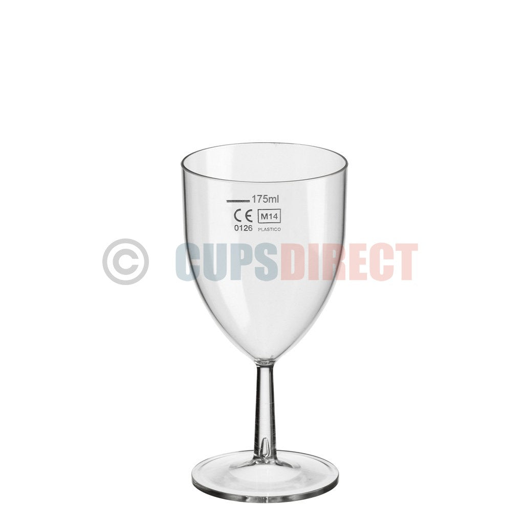 Reusable Plastic Wine Glass Range