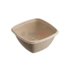 500ml Sabert BePulp Compostable Square Bowl