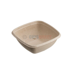 Sabert BePulp - Compostable Square Bowl Range
