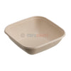 750ml Sabert BePulp Compostable Square Bowl