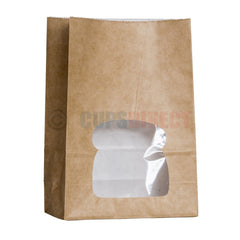 Laminated Sandwich Bag - Windowed