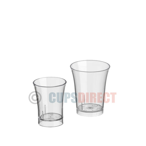 Reusable Shot Glass Range – Single or Double Measure