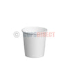 4oz Single Wall Espresso Cup, White Paper Cups for Hot Drinks and Coffee