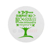 Vegware Compostable Sticker & Seal Range Green Tree (VRST45-GT)
