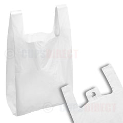 White Vest Carry Bag Range