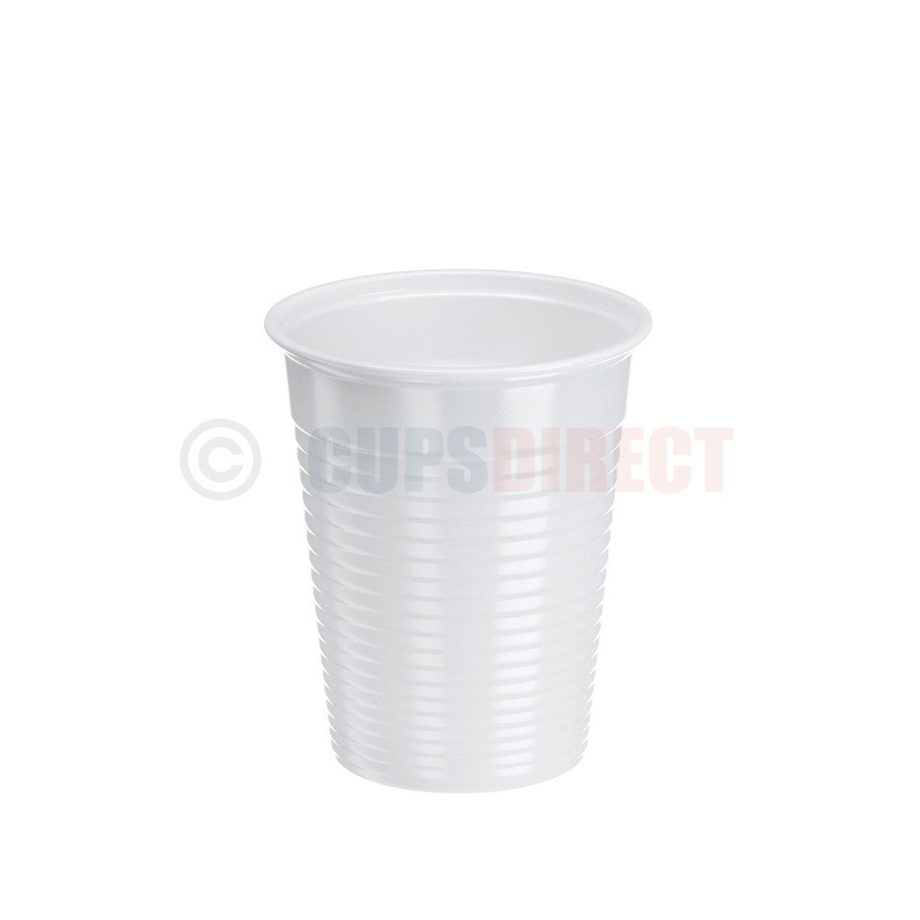 7oz White Dental Cup