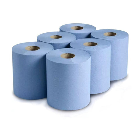 Centre-Feed Blue Roll Range