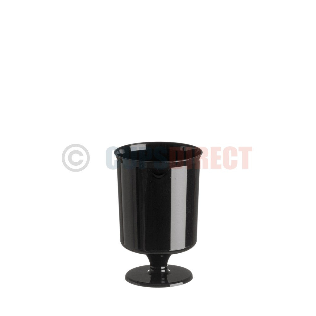 Black Wine Goblet -160ml