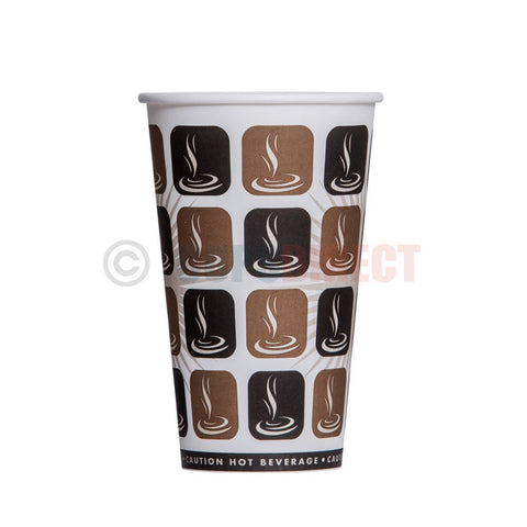 Cafe Select Single Wall Mocha Paper Cup
