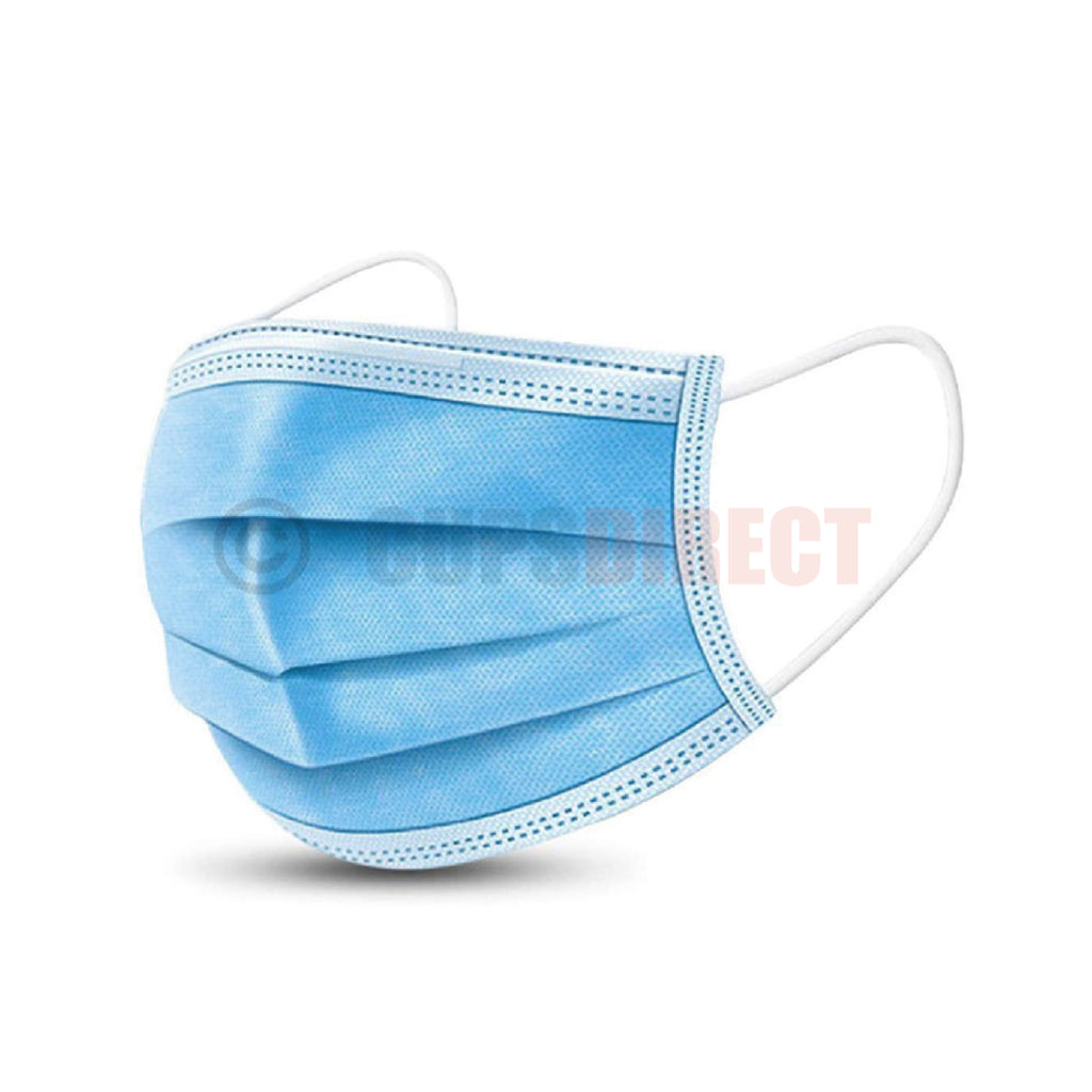 50x 3 Ply Face Mask - Face Covering