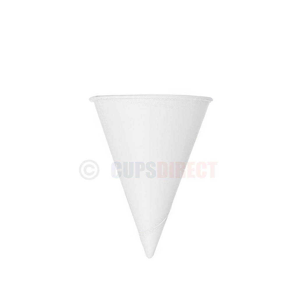 Paper Water Cone 4oz