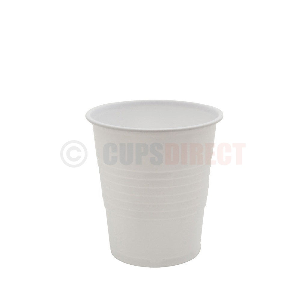 Squat White Auto Vending Cup