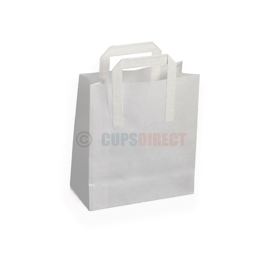White Paper Bags - SOS Handle Range