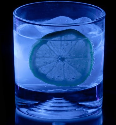 Why does your gin and tonic glow blue in ultraviolet light?
