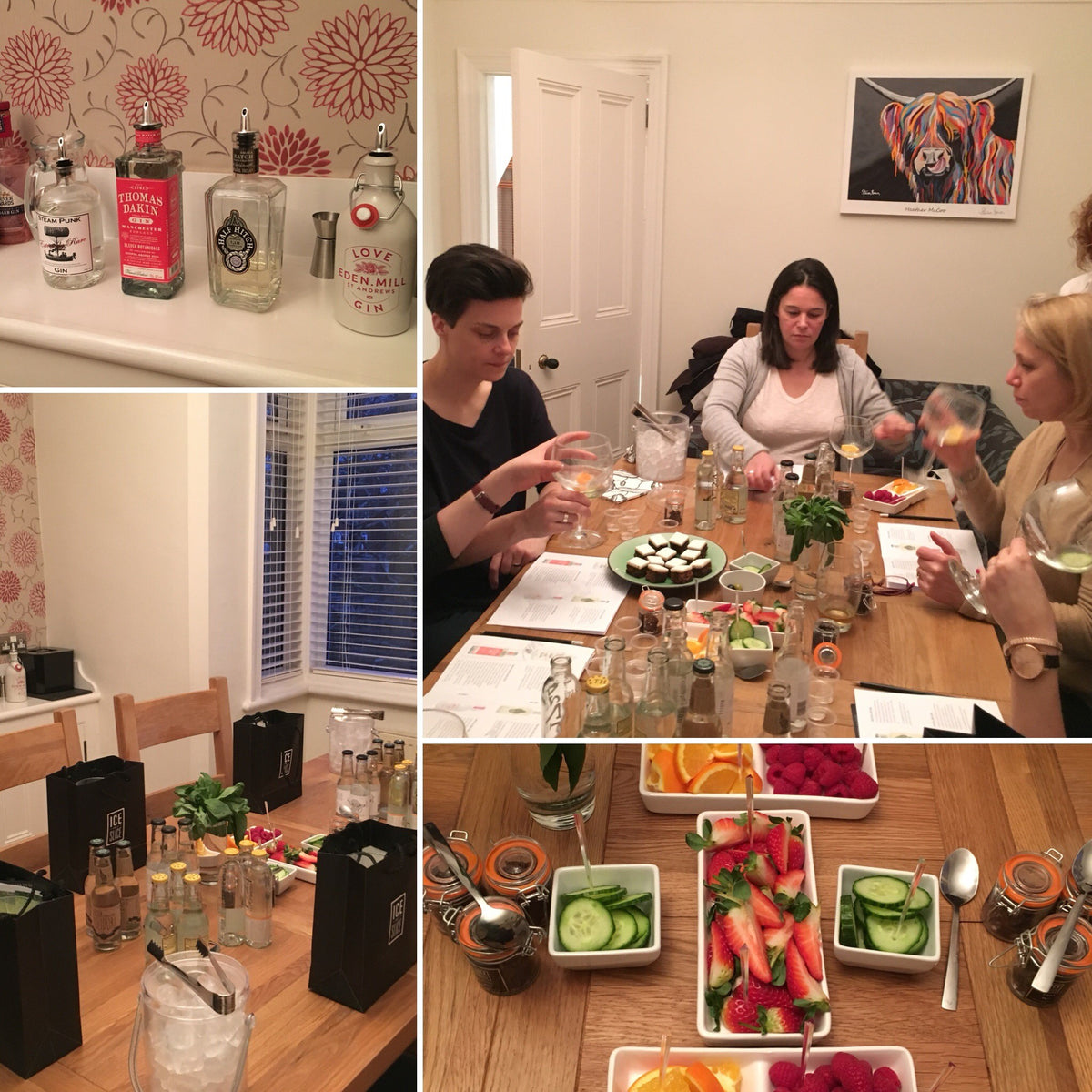A Gin Tasting Evening