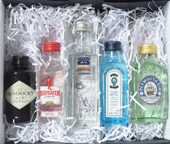 Inside of the Miniature Gin Gift Set by Ice and a Slice