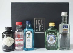 Miniature Gin Gift Set by Ice and a Slice