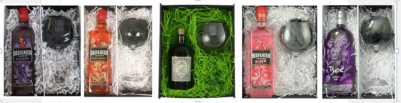 Bottle and Glass Gift Boxes