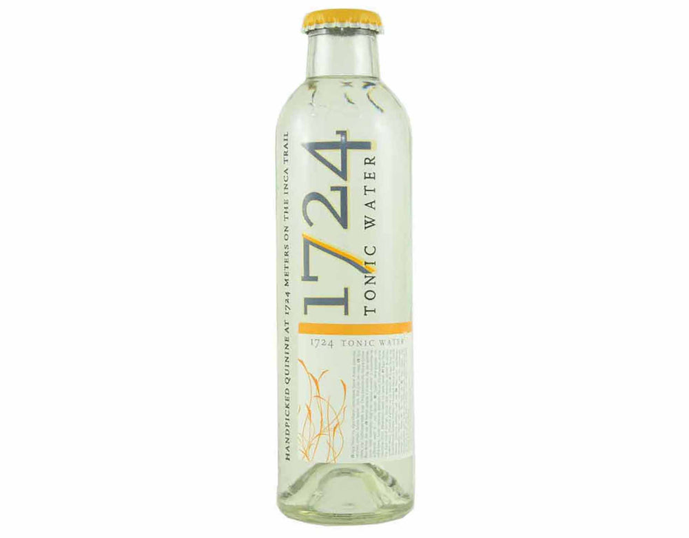 200ml bottle of 1724 craft tonic water