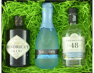 Our Favourite Indulgent Triple Tipple with 3 x 35cl bottles of craft gin