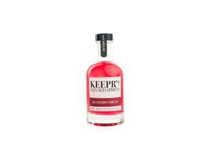 20cl bottle of Keepr's English Raspberry & Honey Gin
