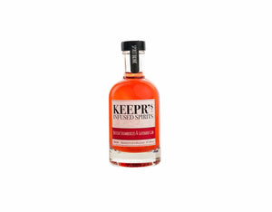 20cl bottle of Keepr's English Strawberry & Lavender Gin