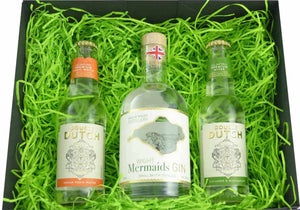 The Isle of Wight Mermaids Gin and Double Dutch Gift Set - Special Edition