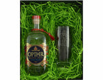70cl Bottle of Ophir Oriental Spiced Gin with a Hiball Glass in a Gift Box