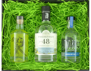 Our Favourite Original Triple Tipple with 2 x 20cl and 1 x 35cl bottles of Craft Gin