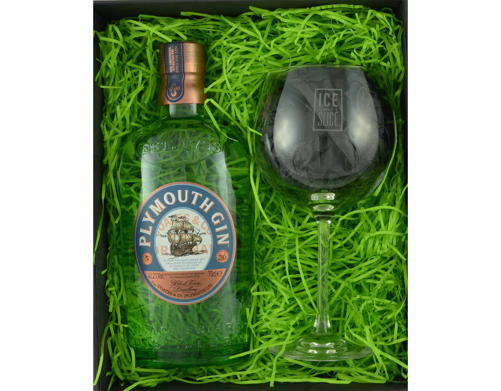 Plymouth Gin and Glass Gift Set