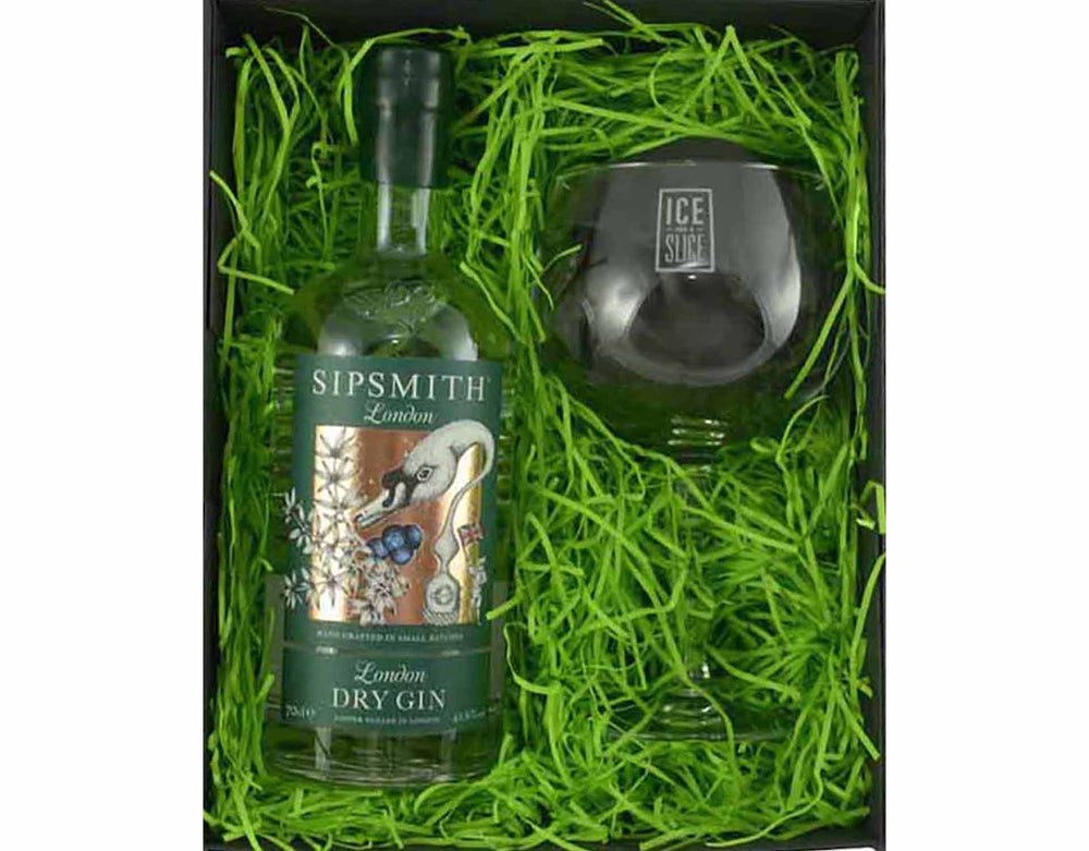 Sipsmith Gin and Glass Gift Set