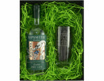 70cl Bottle of Sipsmith Gin with a Gin and Tonic Hiball Glass in a Gift Box