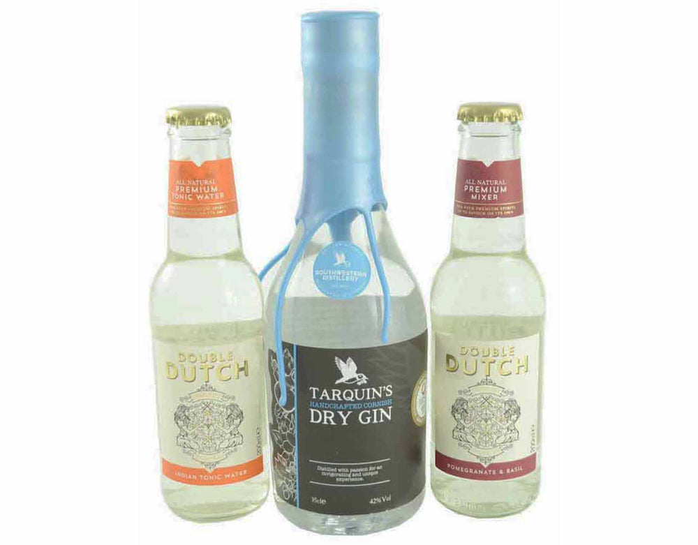 35cl bottle of Tarquin's SeaDog Gin with 200ml bottle of Doubl
