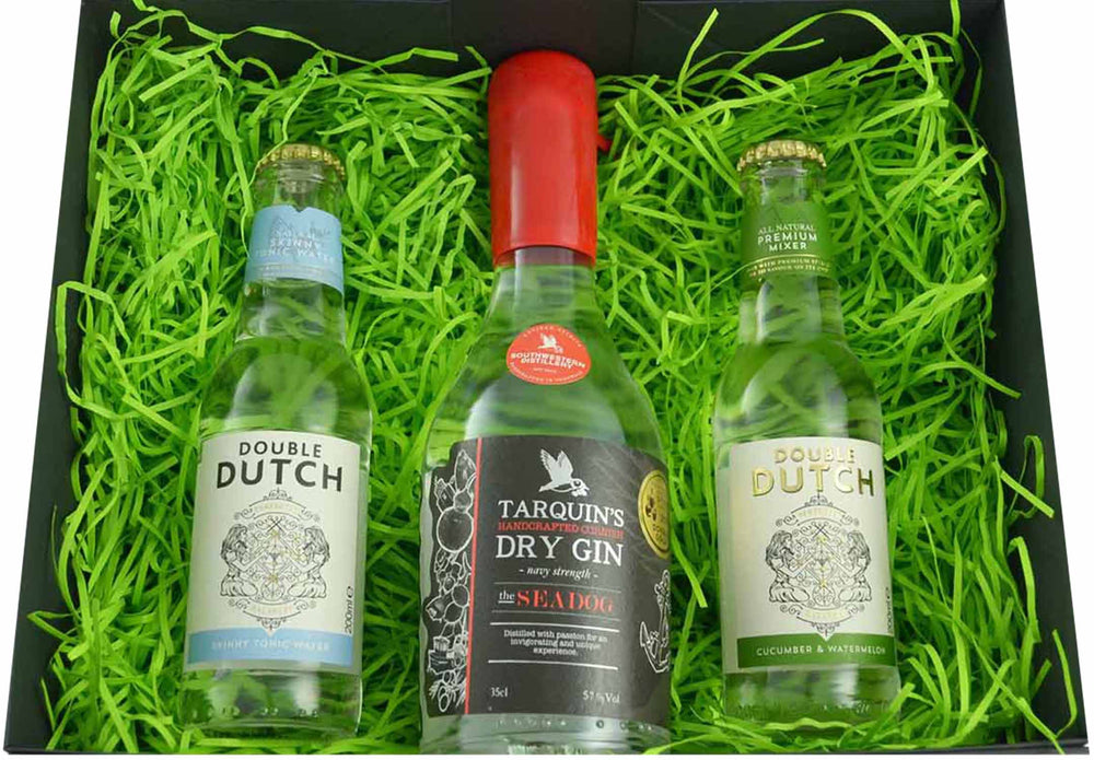 Tarquin's SeaDog Gin and Double Dutch Tonic Water Gift Set - Special Edition