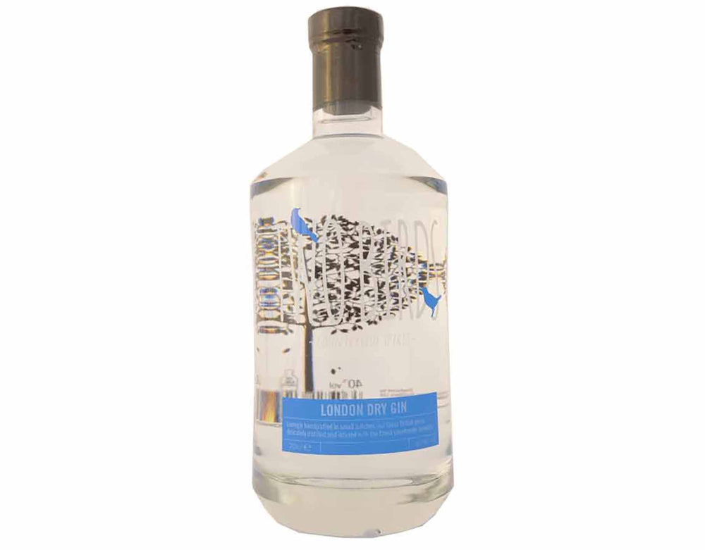 Bottle of Two Birds London Dry Gin, 70cl, ABV 40% - sold by Ice and a Slice Ltd