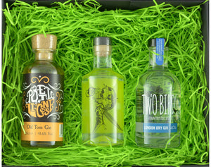 Our Favourite Little Triple Tipple with 3 x 20cl bottles of craft gin