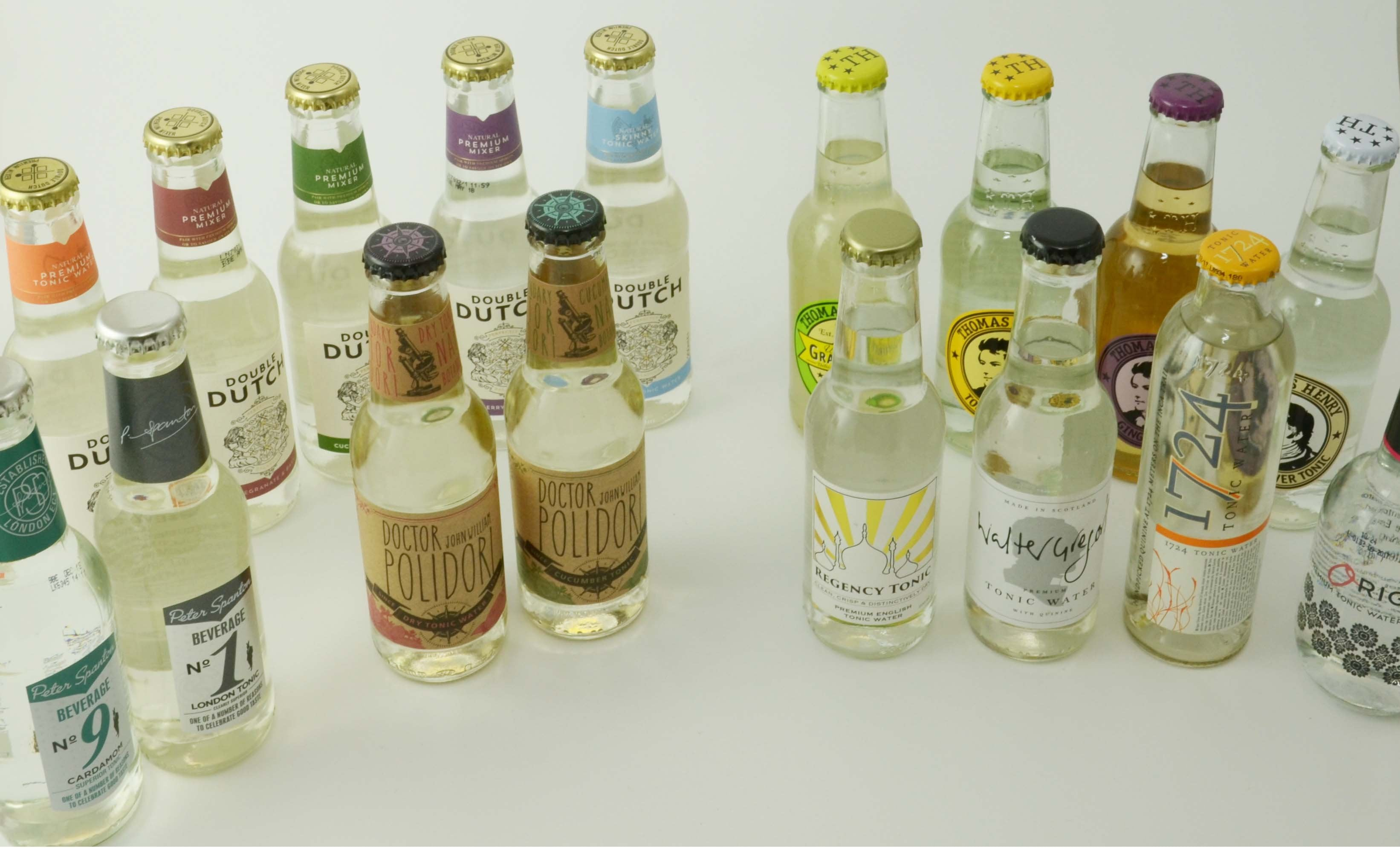 Mixed Cases of Tonic and Mixers