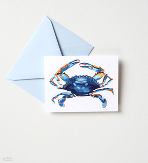BLUE CRAB NOTE CARD SET