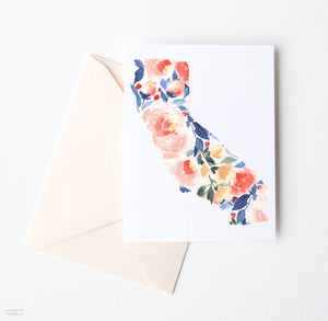 CALIFORNIA STATE NOTE CARD SET