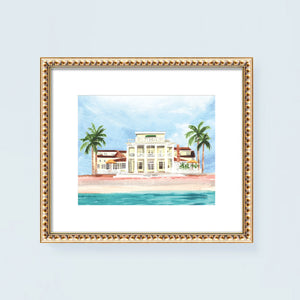 The Gasparilla Inn & Club Art Print
