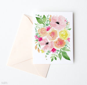 AQUARELLE NOTE CARD SET