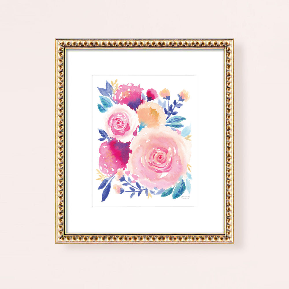 Flower Market Find Art Print