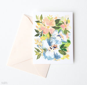 FRENCH COUNTRY FLORALS NOTE CARD SET