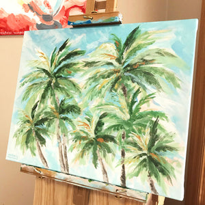 Load image into Gallery viewer, Fronds Forever SOLD $450