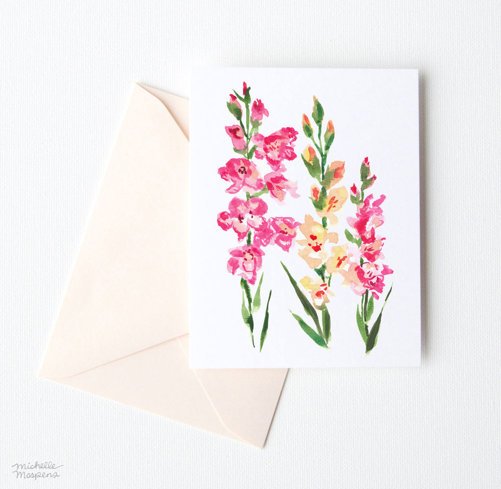GARDEN FRESH NOTE CARD SET