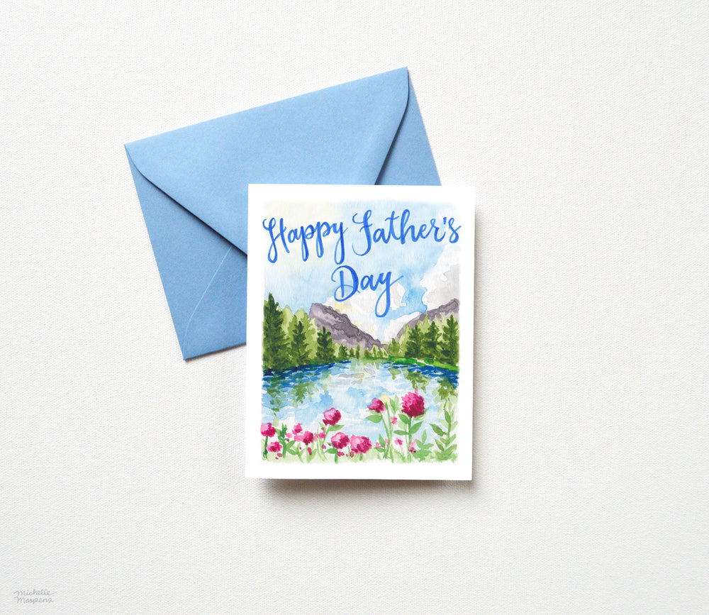 SPRING MOUNTAIN FATHER'S DAY CARD