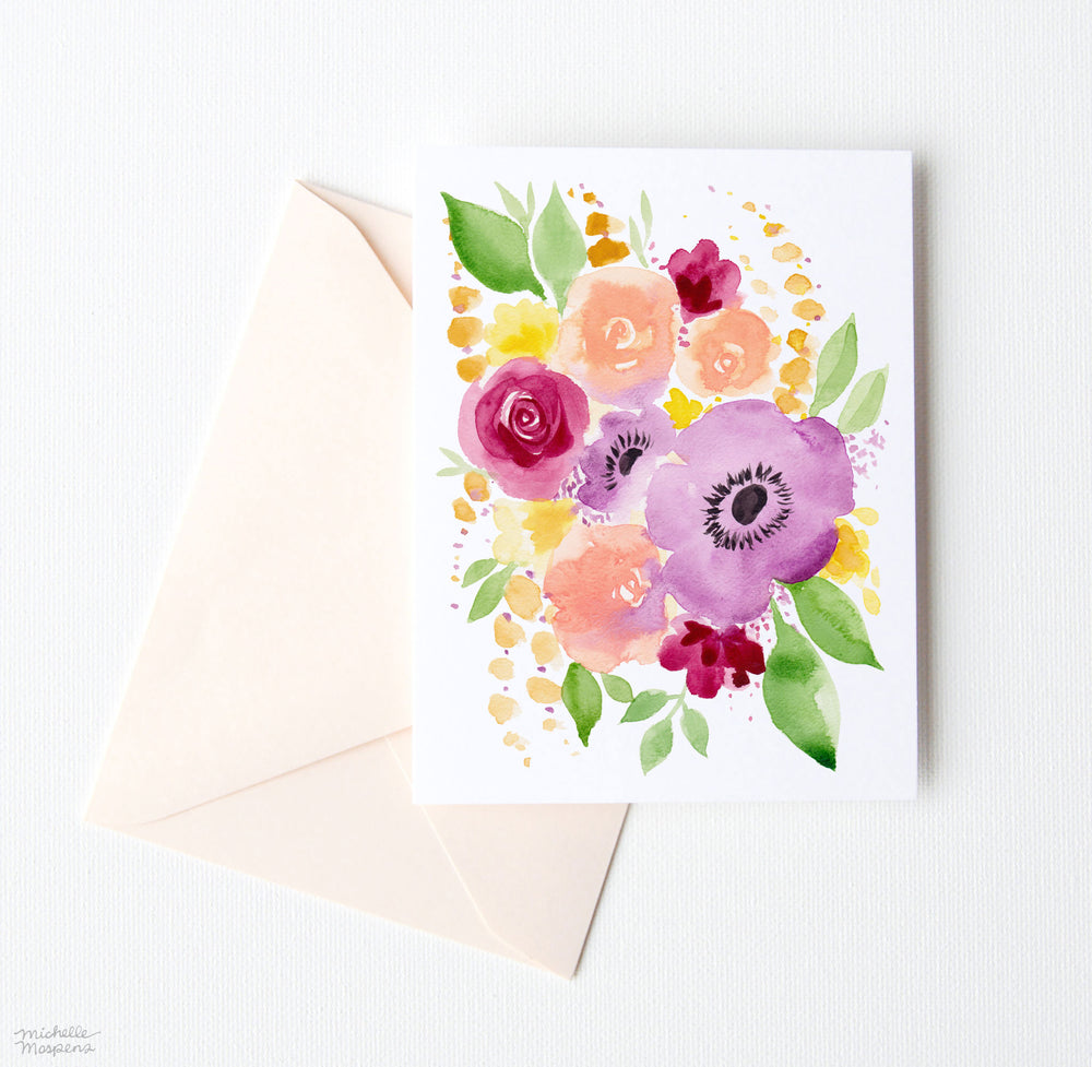 Load image into Gallery viewer, JUST PEACHY NOTE CARDS SET