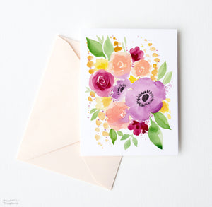 JUST PEACHY NOTE CARDS SET