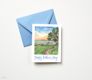 SOUTHERN SUNSET FATHER'S DAY CARD