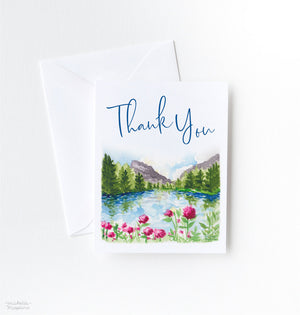 SPRING MOUNTAIN THANK YOU CARD SET